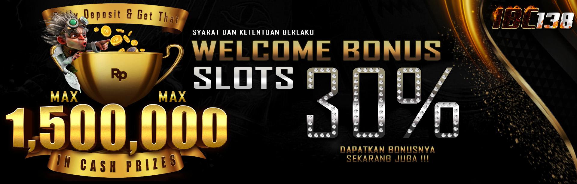Welcome Bonus 30%